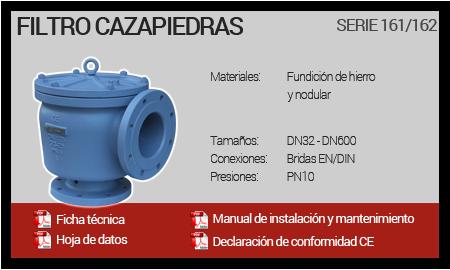 Filtros Cazapiedras - Serie 161-162