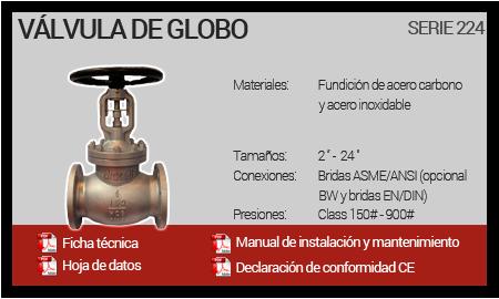 Válvula de Globo - Serie 224