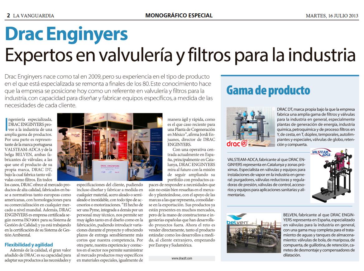 Drac Enginyers - LA VANGUARDIA